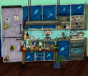 Sherlock's kitchen by naturegirlrocks