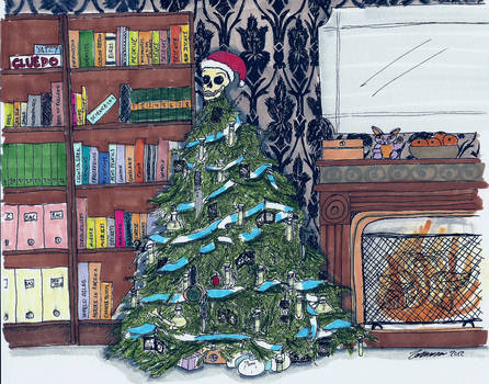 Sherlock's Christmas tree