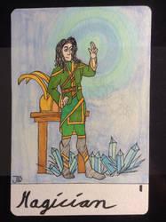 The Magician, tarot card I by naturegirlrocks