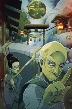Frankenstein Samurai Cover