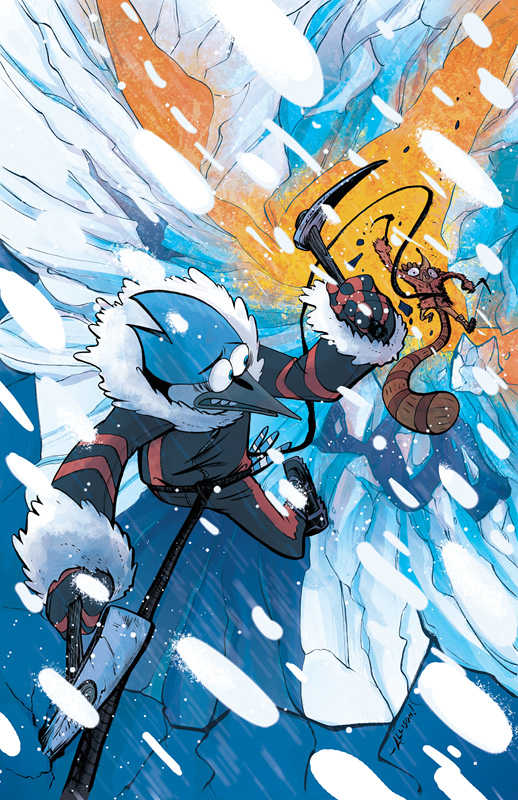 Winter Annual Regular Show Cover by firecloud