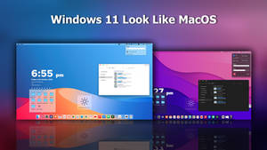 Windows 11 Look Like MacOS