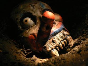 the bone beast clown by morespeshalkid