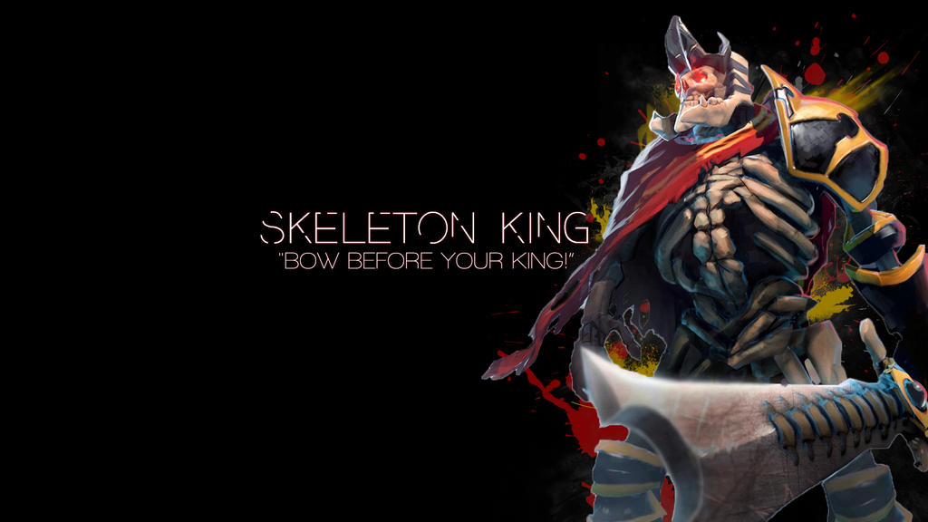 Dota 2: Skeleton King by Dwindlekin on DeviantArt
