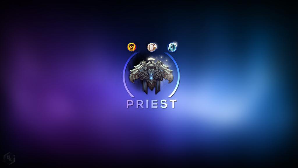 WoW: Priest By WR-Dwyndle On DeviantArt