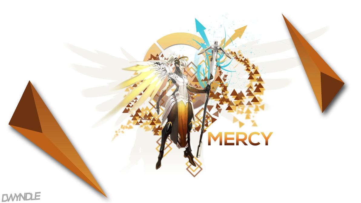 Overwatch: Mercy by WR-Dwyndle