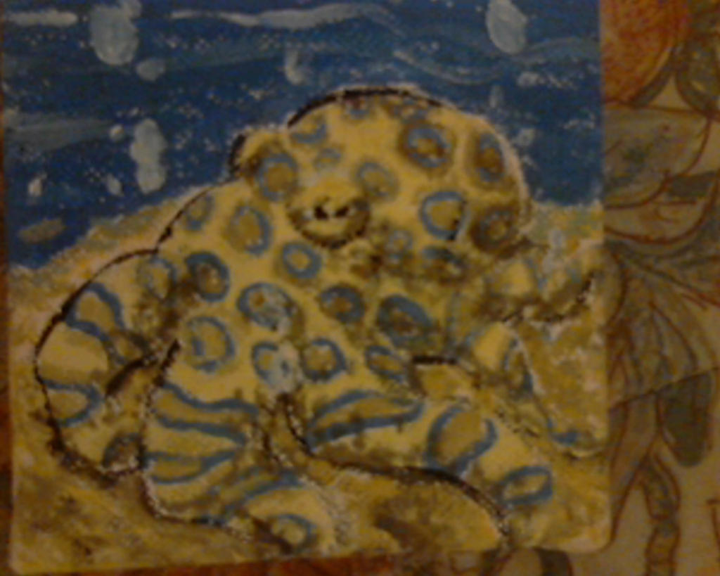 Blue Ringed Octopus Painting by Calicocat-5 on DeviantArt