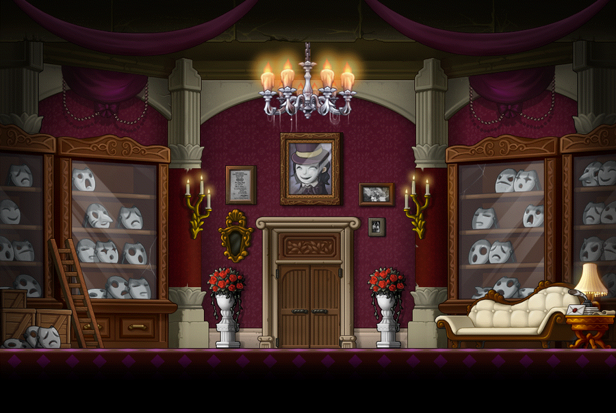 Haunted Mansion By Animeloverbibi