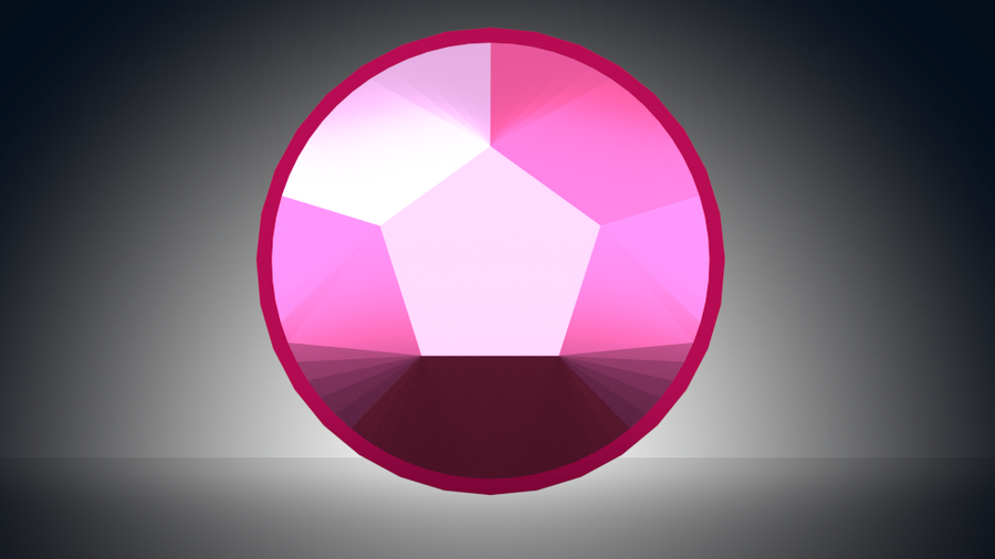 Steven Universe Rose Quartz Symbol: Rose Quartz Gemstone Icon By Kyon003 On DeviantArt