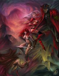Taarna + Red Sonja