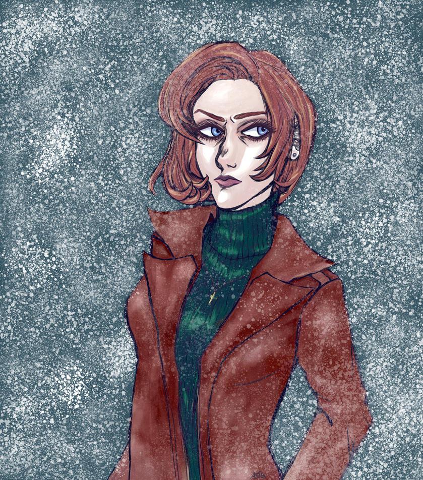 Scully by jeinee
