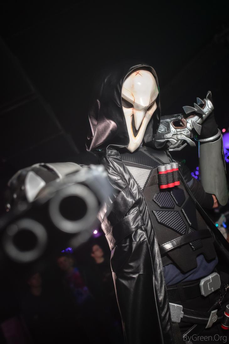Reaper, Overwatch by bygreenorg