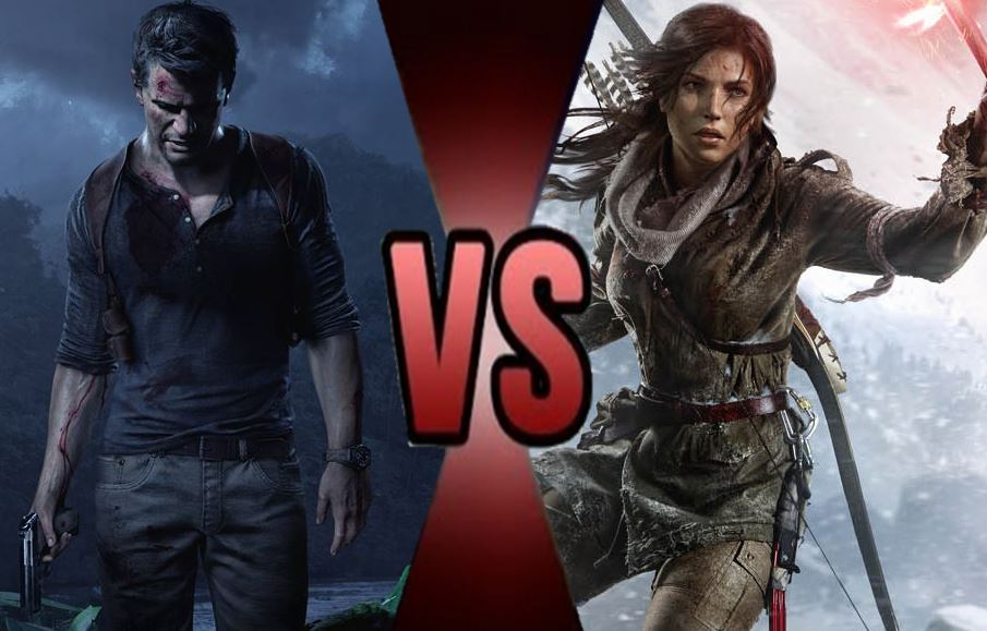 nathan drake vs lara croft death battle by littlechone on