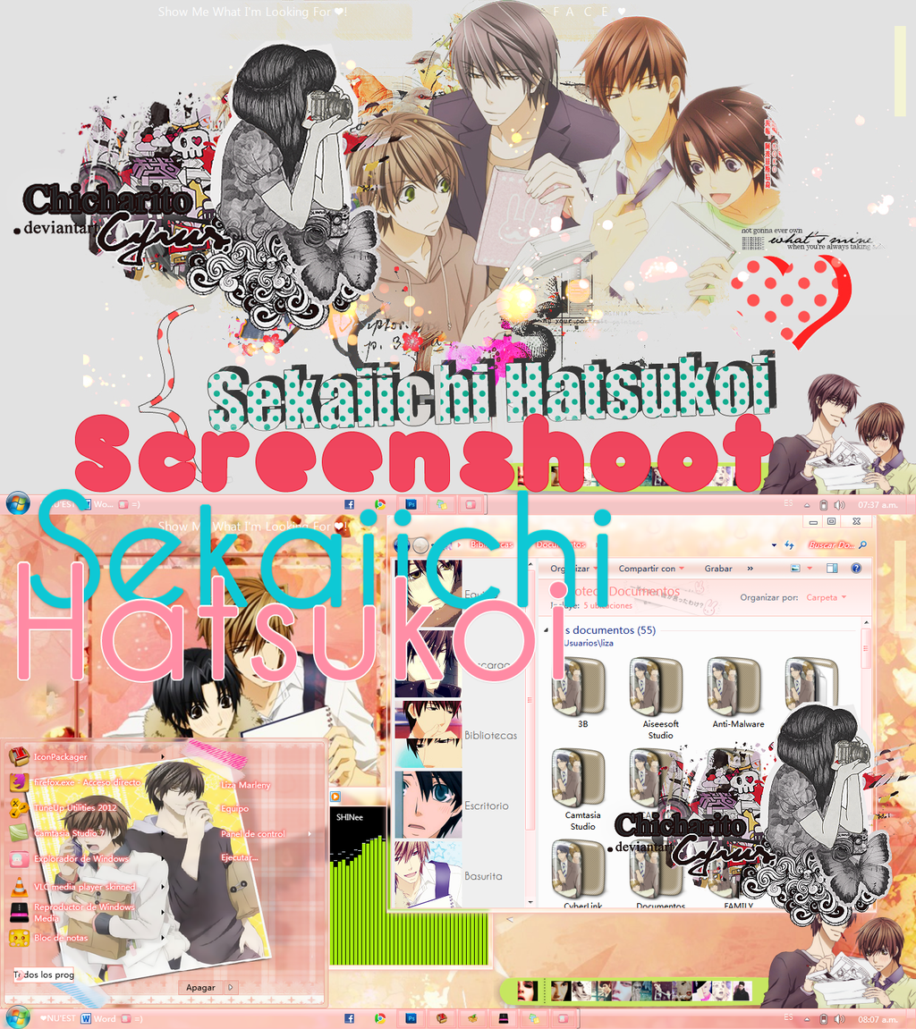 ScreenShoot SEKAIICHI HATSUKOI by ChicharitoCyrus