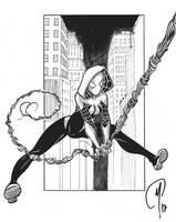Spider-gwen by Madd-og