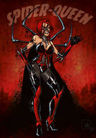 spider-queen by Madd-og