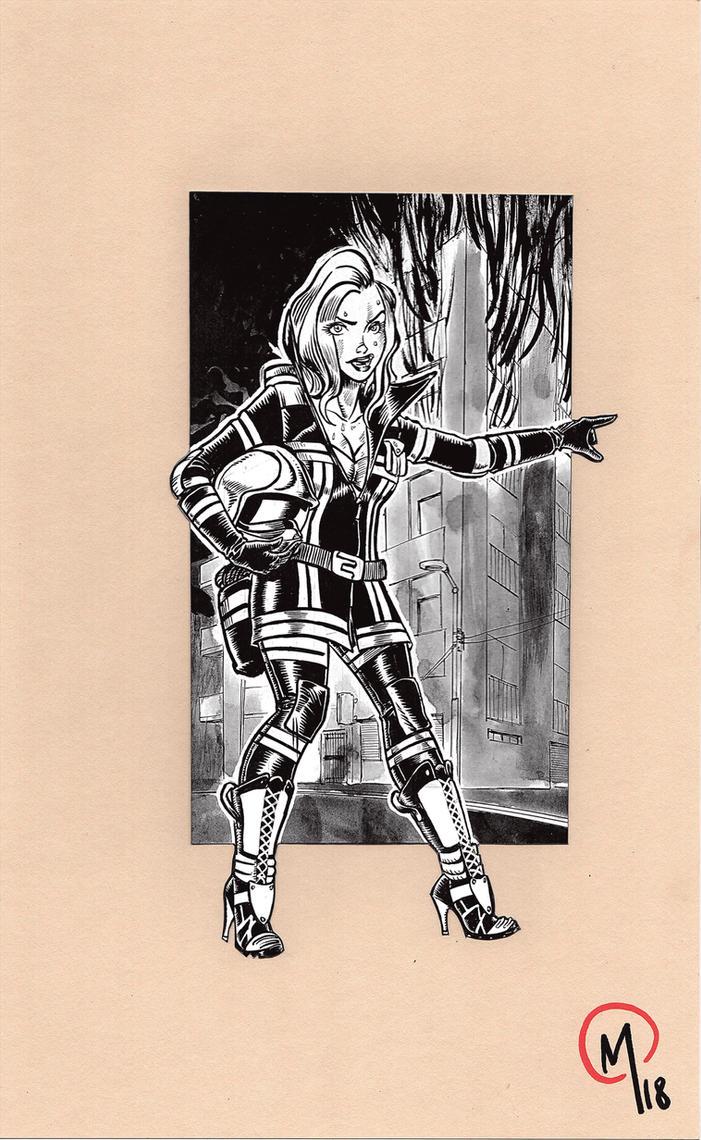 Pompiere - Firewoman by Madd-og