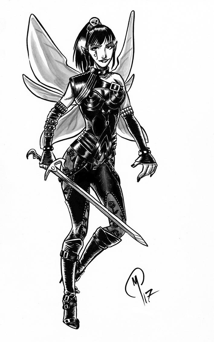 Fairy-warrior by Madd-og