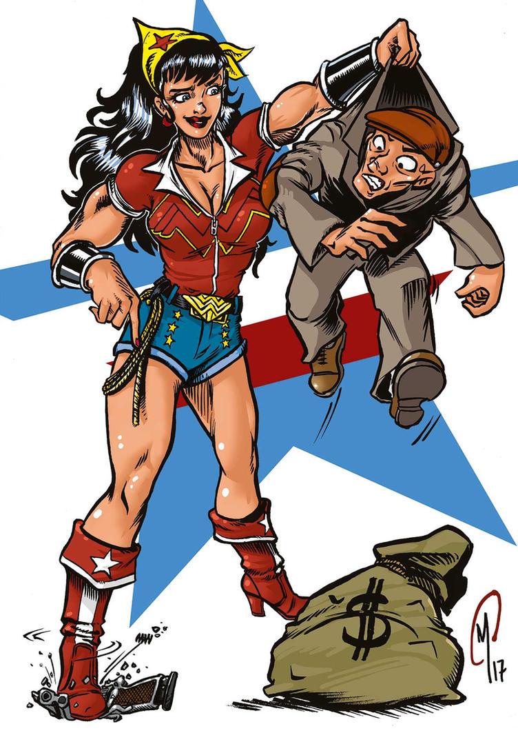 Wonder Woman Bombshell by Madd-og