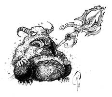 Grand Immonde / Great Unclean One Nurgle Daemon