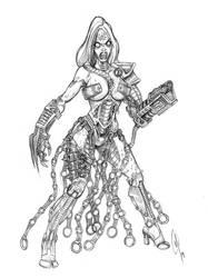 Quake fanart : Iron Maiden redesign