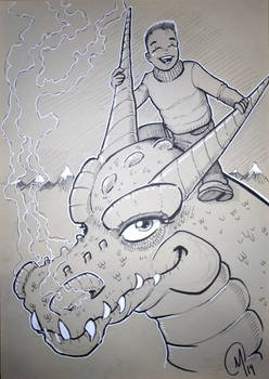 Commission : Dragon Kid
