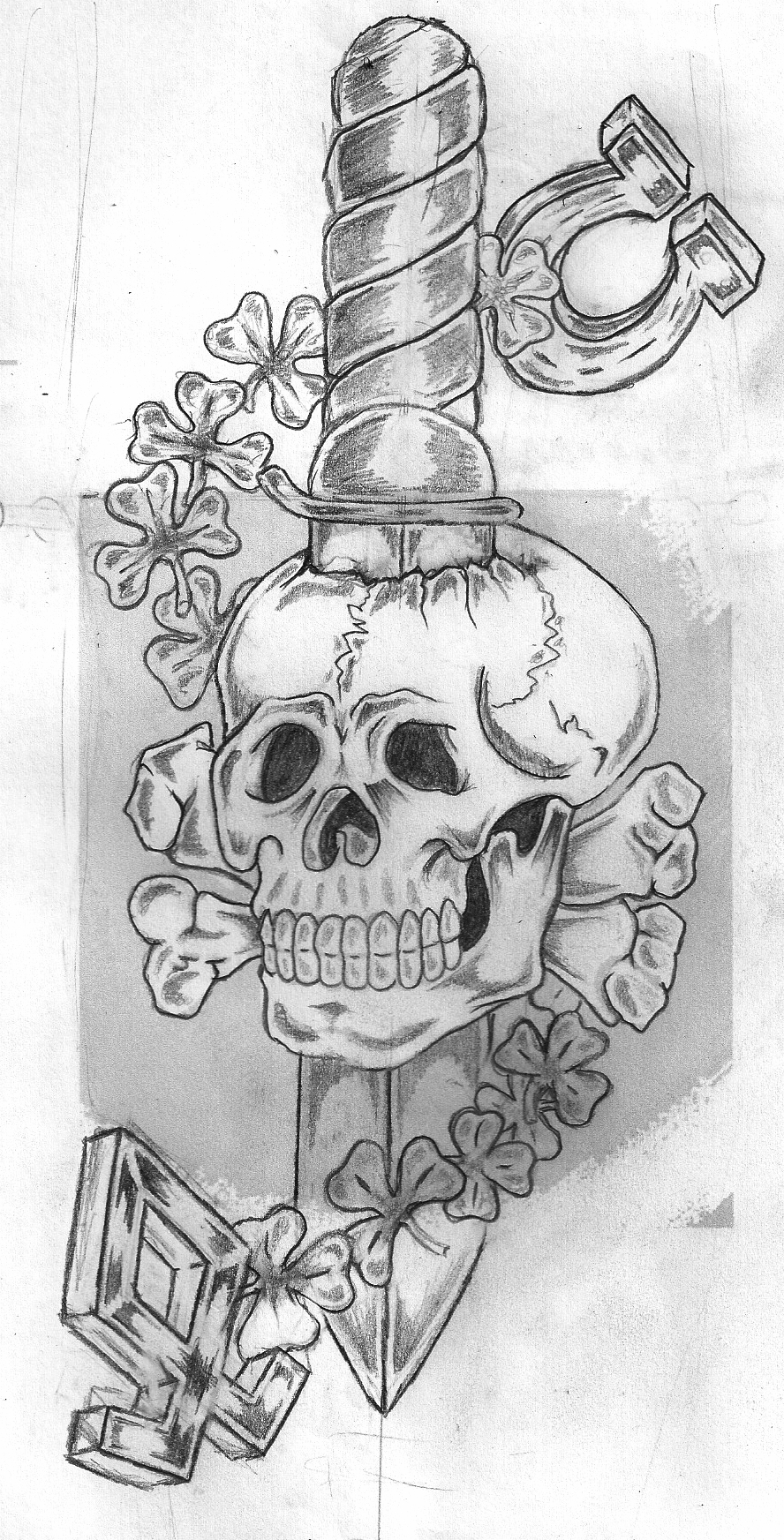 totenkopf tattoo by boheamith