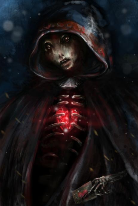 Happy Dark Valentine by nimroh