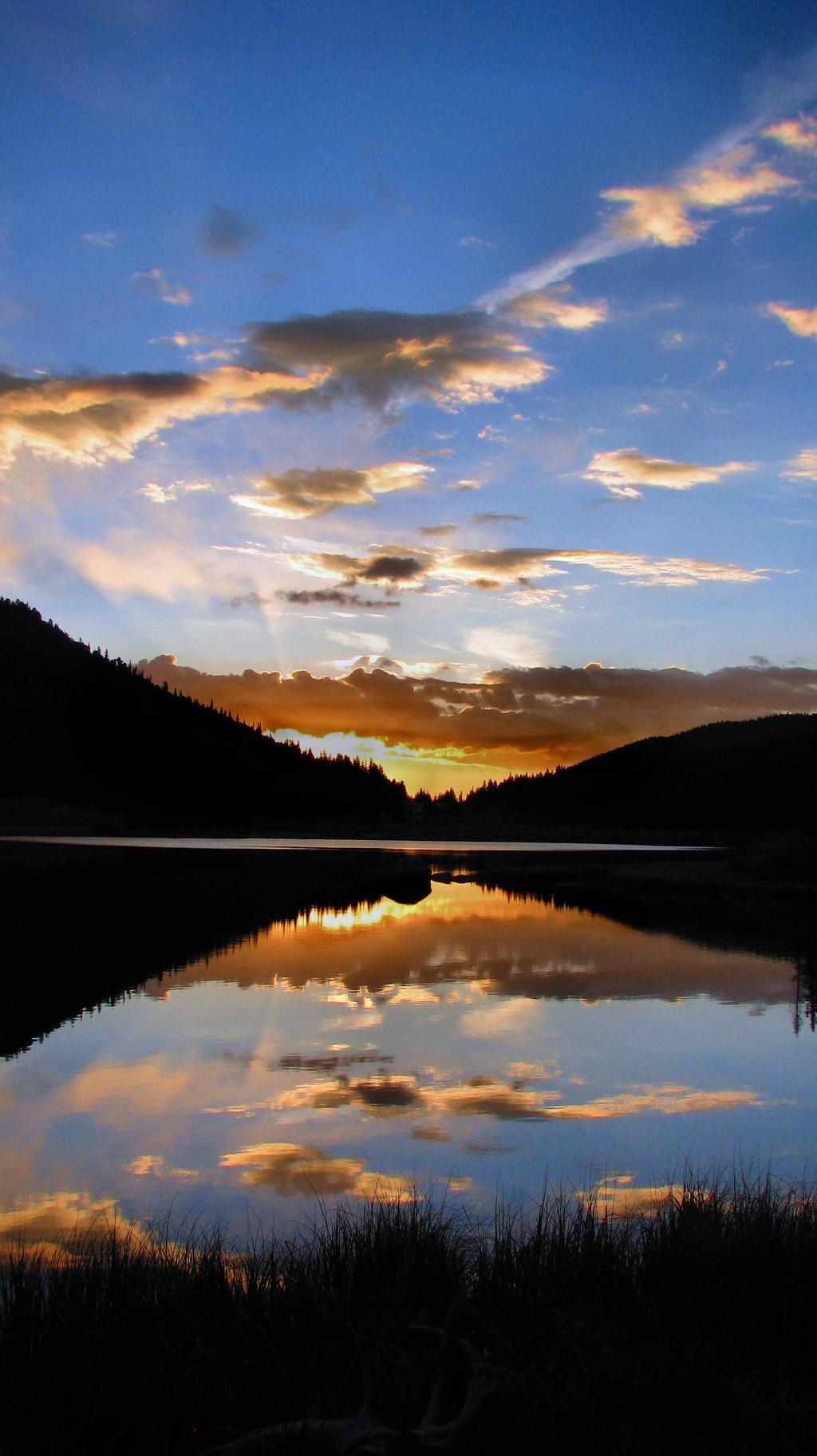 Sunrise Reflections by JCMillard