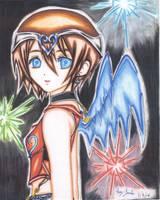 Kindom hearts 'kairi' by yusukeraz
