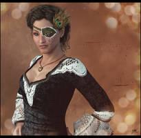 Gabriella Frye for oreana by 0Snow-White0