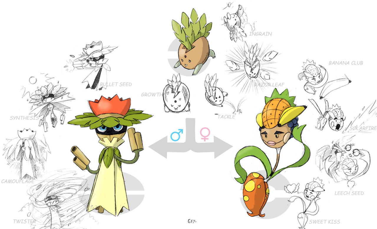 Tropical Fakemons by EstevaoPB