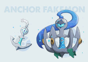 Anchor fakemon by EstevaoPB