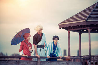 Gintama: The sinking sunset by Feeri-Theme