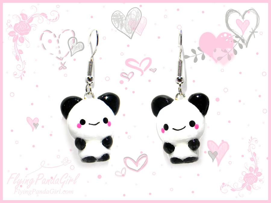 Les n'Anniversaires (et aussi les non-anniversaires !) - Page 3 Panda_earrings_by_flyingpandagirl-d2ki8x3