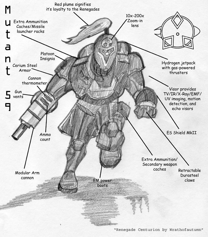 Renegade Centurion by Wrathofautumn