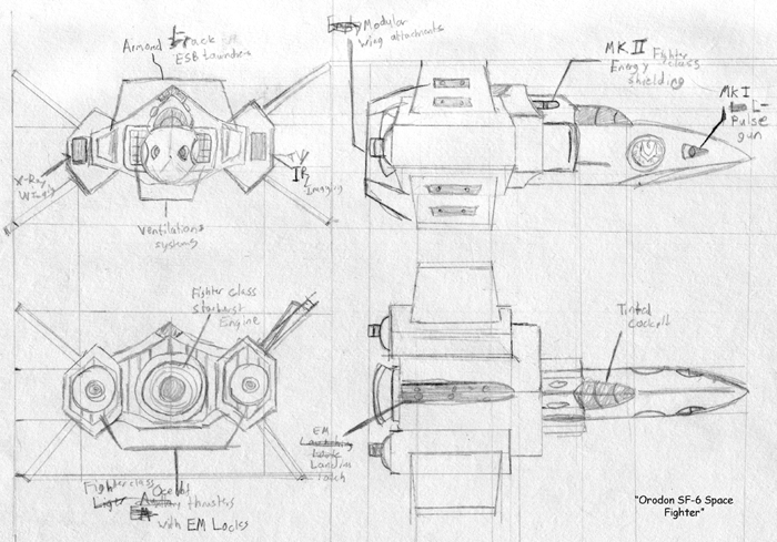 Orodon SF-6 Space Fighter