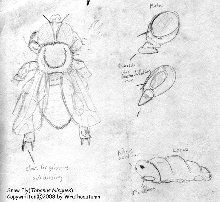 Mutant 59: Snow Fly by Wrathofautumn