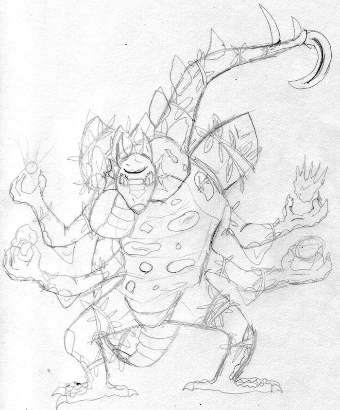 Gaea, Mother of Creation by Wrathofautumn