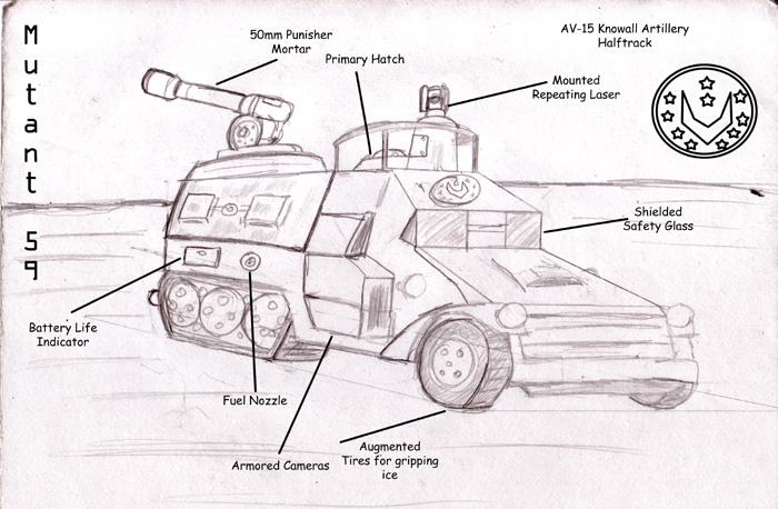 AV-15 Knowall halftrack
