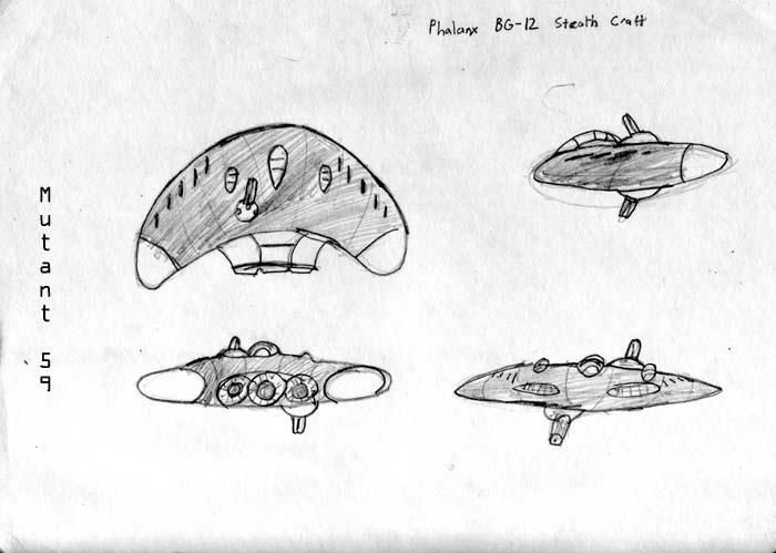 Phalanx BG-12 Stealth Craft