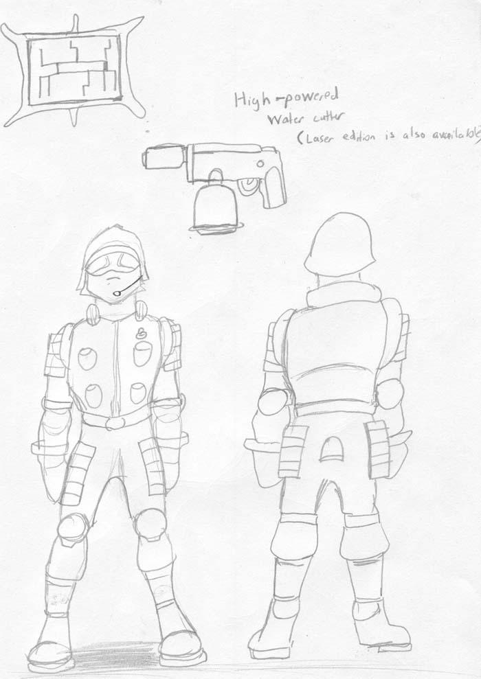 Industry Division Peon uniform by Wrathofautumn