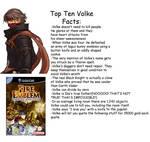Top Ten Volke Facts