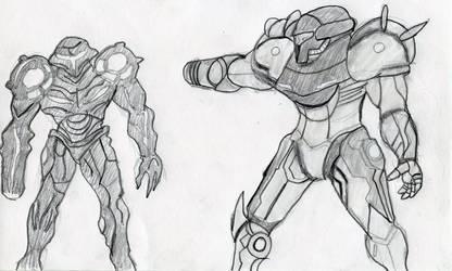 Metroid Prime: Showdown by Wrathofautumn