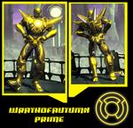 DCUO: Wrathofautumn Prime's New Look