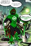 Green Lantern Arrowquivershaft