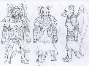 Dark Souls Syn Warrior Reference Sheet