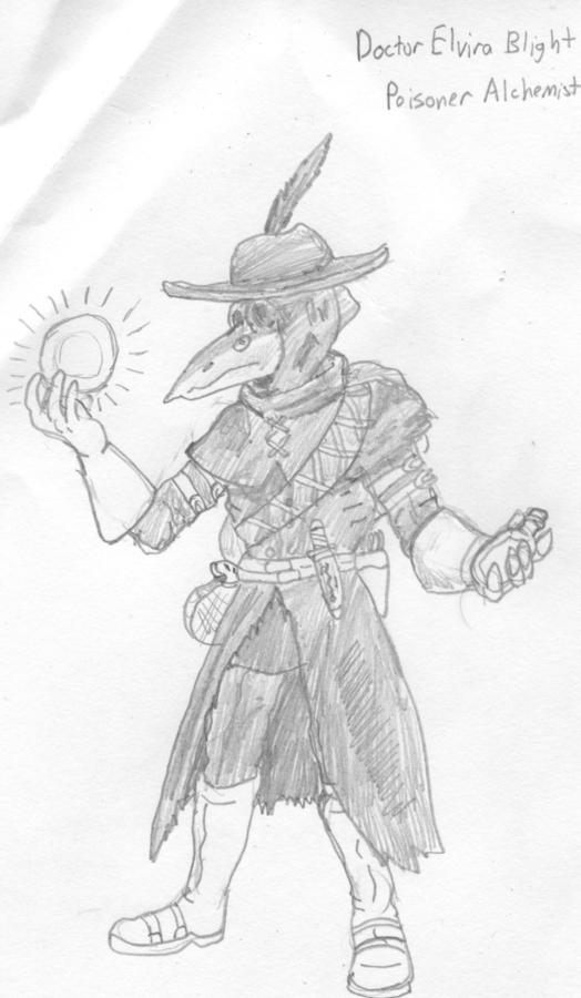 Doctor Elvira Blight by Wrathofautumn