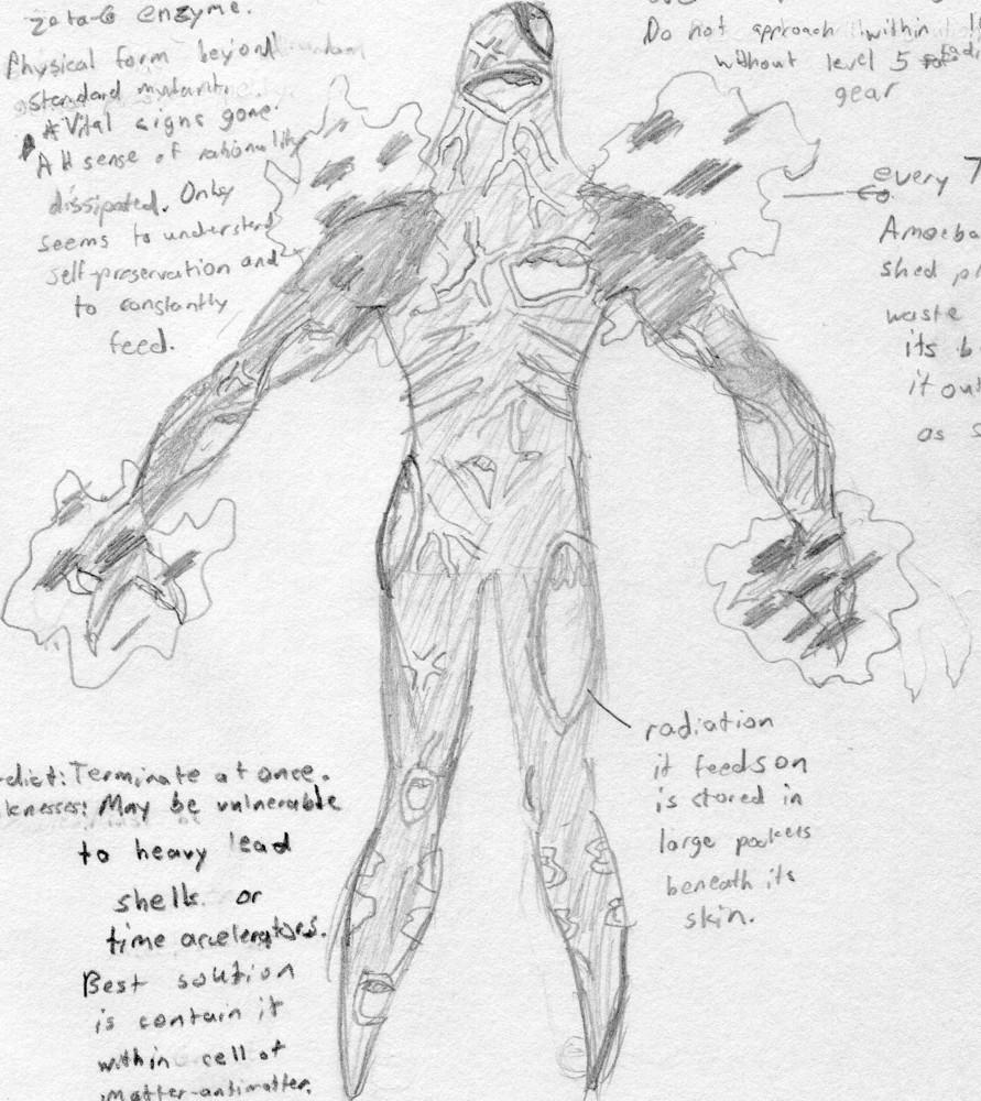 Mutant Alpha: Amoeba
