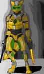 Loren in Power Suit Done
